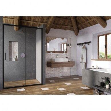 Dušo durys Ravak Blix Slim BLSDP2 100, 110, 120 cm 4