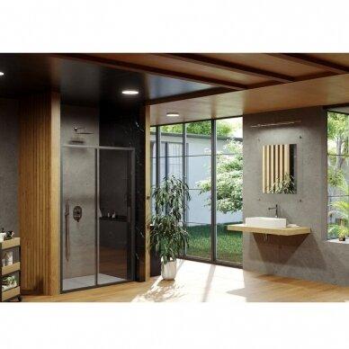 Dušo durys Ravak Blix Slim BLSDP2 100, 110, 120 cm 5