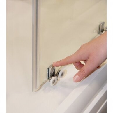Dušo durys Ravak Blix Slim BLSDP2 100, 110, 120 cm 6