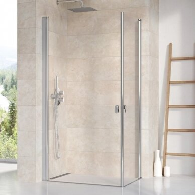 Dušo durys Ravak Chrome CRV1 80, 90, 100 cm 2