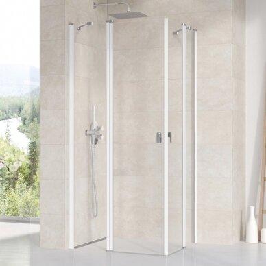 Dušo durys Ravak Chrome CRV2 80, 90, 100, 110, 120 cm 2