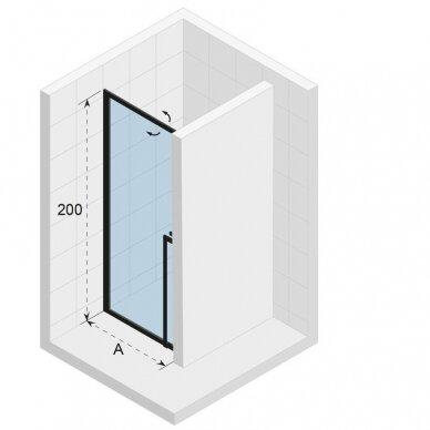 Dušo durys Riho Lucid GD101 80, 90, 100 cm 3