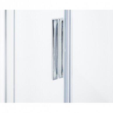 Dušo durys su sienele Baltijos Brasta Tina Plius 80, 90, 100, 110, 120 cm 2