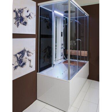 Dušo – garo kabina ir masažinė vonia Balteco Vario 2