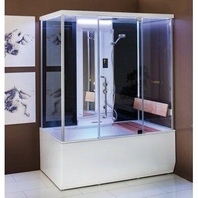 Dušo – garo kabina ir masažinė vonia Balteco Vario