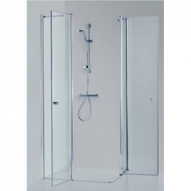 Dušo kabina Brasta Glass Sima 80, 90, 100 cm 2