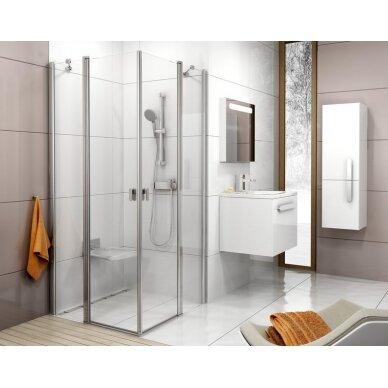 Dušo durys Ravak Chrome CRV2 80, 90, 100, 110, 120 cm 3