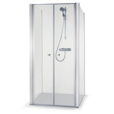 Dušo kabina Brasta Glass Erika Plius 80, 90, 100 cm