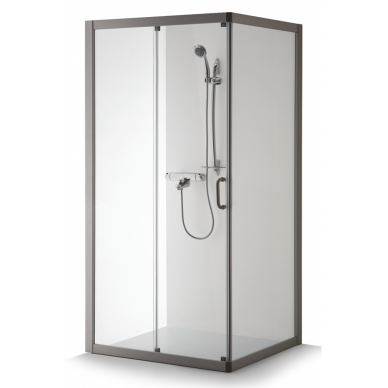 Dušo kabina Brasta Glass Laima 110, 120, 130 cm