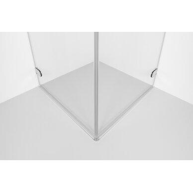 Dušo kabina Brasta Glass Liepa 80, 90, 100 cm 3