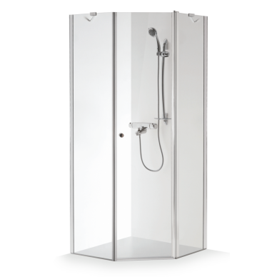 Dušo kabina Brasta Glass Lina 80, 90, 100 cm