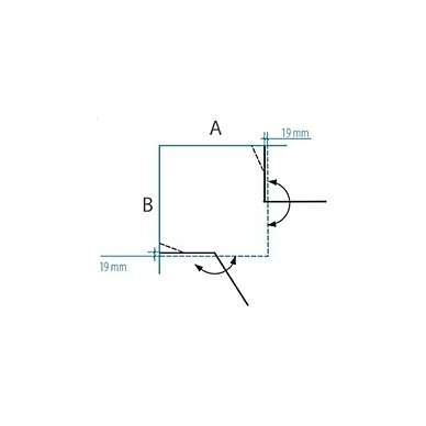 Dušo kabina Baltijos Brasta Lora 80, 90, 100 cm 9