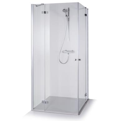 Dušo kabina Brasta Glass Lora 80, 90, 100 cm