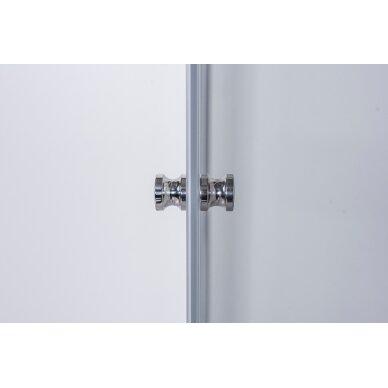 Dušo kabina Brasta Glass Lora 80, 90, 100 cm 6