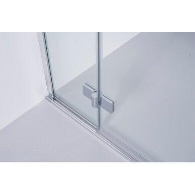 Dušo kabina Brasta Glass Lora 80, 90, 100 cm 2