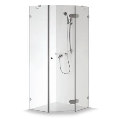 Dušo kabina Brasta Glass Nida 80, 90, 100 cm