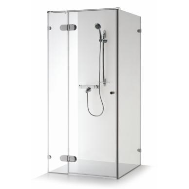 Dušo kabina Brasta Glass Nora Plius 80, 90, 100 cm