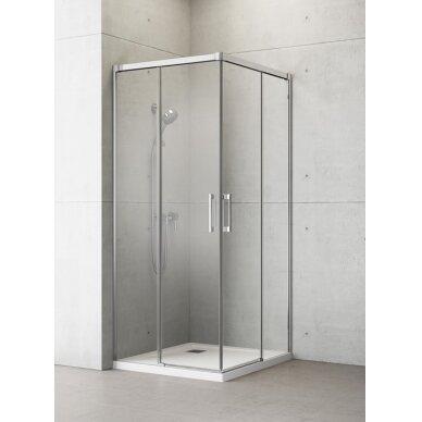 Dušo kabina Radaway Idea Kdd 80, 90, 100, 110, 120 cm