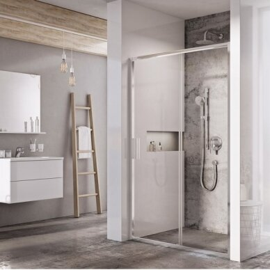 Dušo durys Ravak Blix Slim BLSDP2 100, 110, 120 cm 2