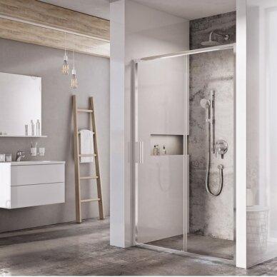 Dušo durys Ravak Blix Slim BLSDP2 100, 120 cm 2
