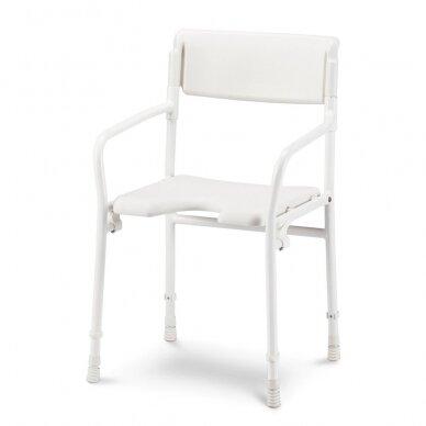 Dušo kėdė su atlošu Meyra DuBaStar sulankstoma