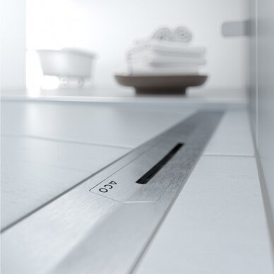 Dušo latakas ACO ShowerDrain S+ ir grotelės 80, 90, 100, 120 cm 4