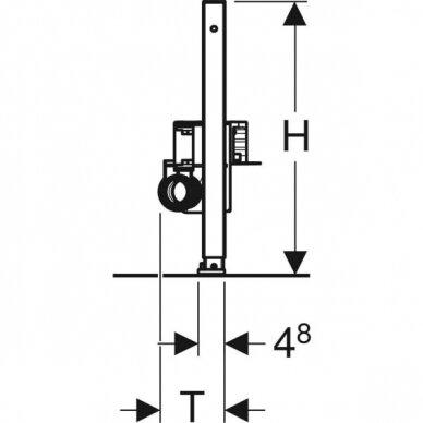 Dušo latakas Geberit Duofix ShowerDrain H50 4