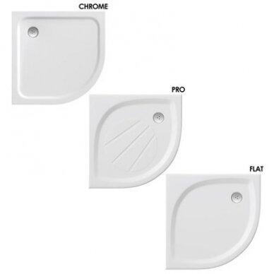 Dušo padėklas Ravak Elipso Pro Chrome 80, 90 cm 3