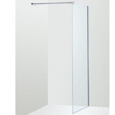 Dušo sienelė Brasta Glass Ema 80, 90, 100, 110, 120, 130, 140 cm 8