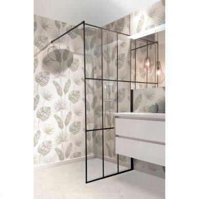 Dušo sienelė Brasta Glass Nero Cube Ema 80, 100 cm 3
