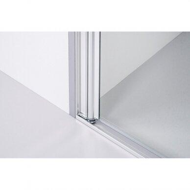 Dušo sienelė Brasta Glass Rita 90, 100, 110, 120 cm 4