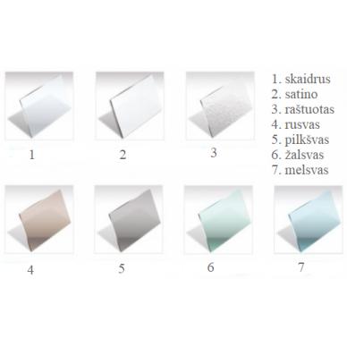 Dušo sienelė Baltijos Brasta Gabija 100, 110, 120, 130, 140 cm 6