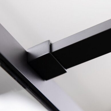 Dušo sienelė Riho Grid GB401 juoda 2