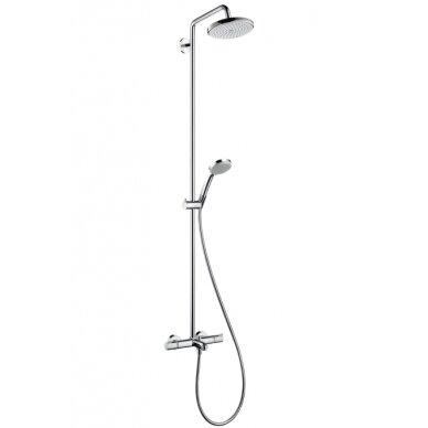 Dušo sistema Hansgrohe Croma 220 Showerpipe