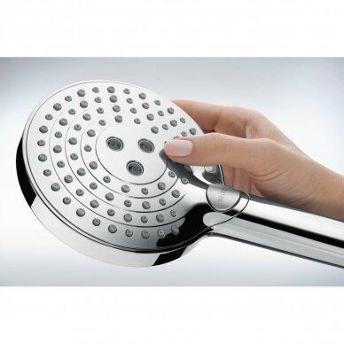 Dušo sistema Hansgrohe Raindance Select S Showerpipe 240 1jet PowderRain su termostatiniu maišytuvu 2