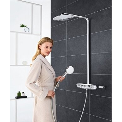 Dušo termostatinė sistema su Rainshower SmartControl 360 Duo 5
