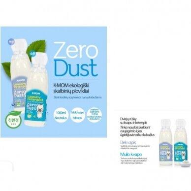 """Ekologiškas skalbinių ploviklis K-MOM """"Zero Dust"""" (muilo kvapo) 2"""