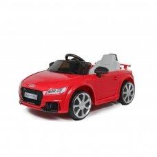 Elektrinė mašinėlė AUDI TT RS 12V raudona