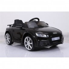 Elektrinė mašinėlė vaikams AUDI TT RS 12V juodas