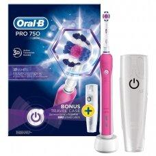Elektrinis dantų šepetėlis Oral-B PRO 750
