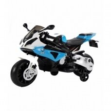 Elektrinis motociklas BMW S1000RR mėlynas