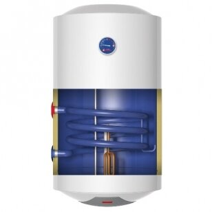 Elektrinis vandens šildytuvas Thermex ER 80V Combi, 1,2 kW