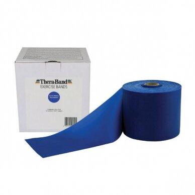 Elastinė juosta Thera-Band be latekso, Mėlyna