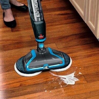 Elektrinė grindų valymo šluota Bissell Spinwave 3