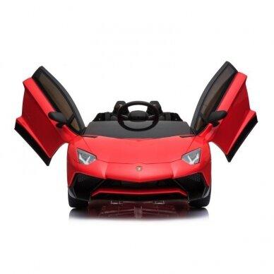 Elektrinė mašinėlė Lamborghini Aventador BDM0913 6