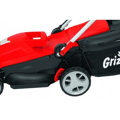 Elektrinė vejapjovė 1400W Grizzly ERM 1434-3 4