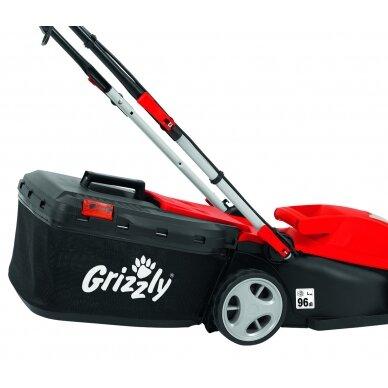 Elektrinė vejapjovė 1400W Grizzly ERM 1434-3 6