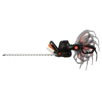 Elektrinės gyvatvorių žirklės 680W Grizzly Tools Deltafox DG-EHT 6860 3D 2