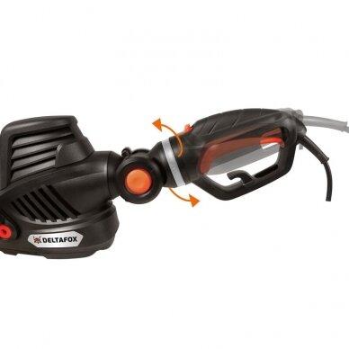 Elektrinės gyvatvorių žirklės 680W Grizzly Tools Deltafox DG-EHT 6860 3D 3
