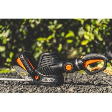 Elektrinės gyvatvorių žirklės 680W Grizzly Tools Deltafox DG-EHT 6860 3D 5